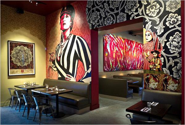 Shepard Fairey restaurant