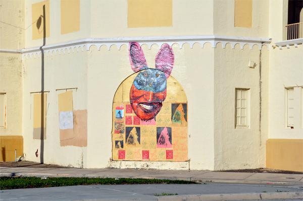 MIami Street Art bunny