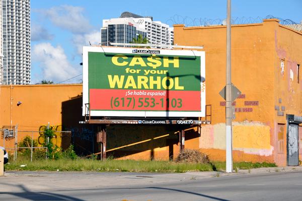Cash for Your Warhol Geoff Hargadon