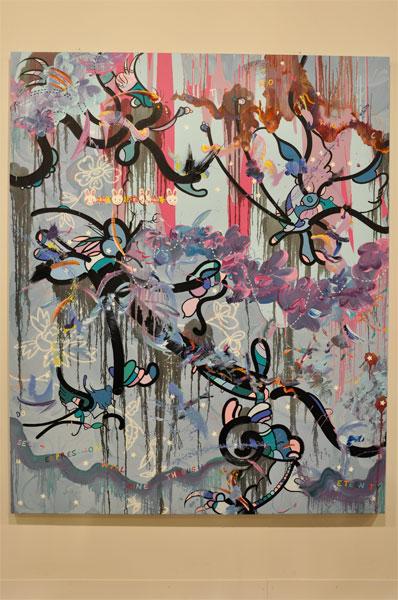 Fiona Rae Basel 2010 Deppe Parker