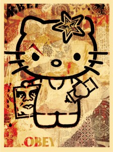 Hello Kitty Fairey