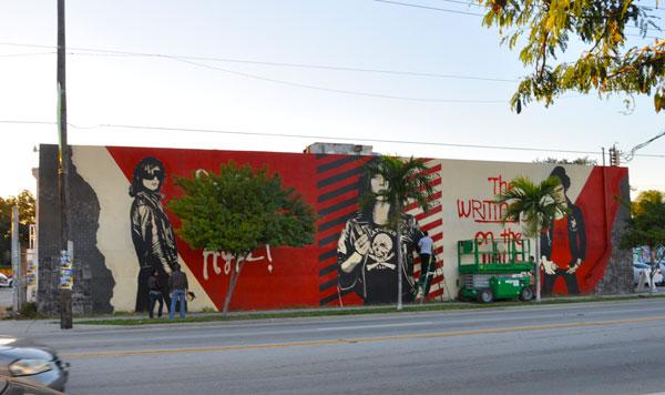 Shepard Fairey Miami