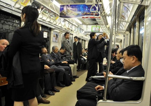 Tokyo Train Japan jdeppeparker