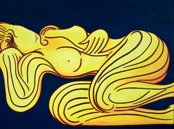 Yellow woman Jennifer Deppe Parker