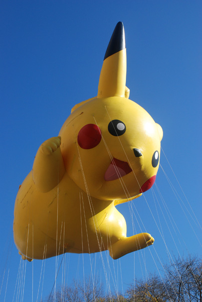 Pikachu Balloon Thanksgiving Day Parade 2011