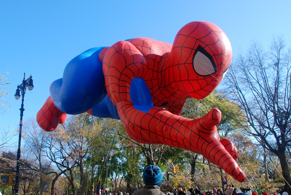 Spiderman Balloon Thanksgiving Day Parade 2011
