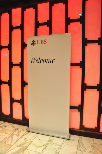 UBS Conference Welcome