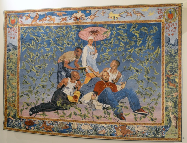 Kehinde_Wiley_tapestry