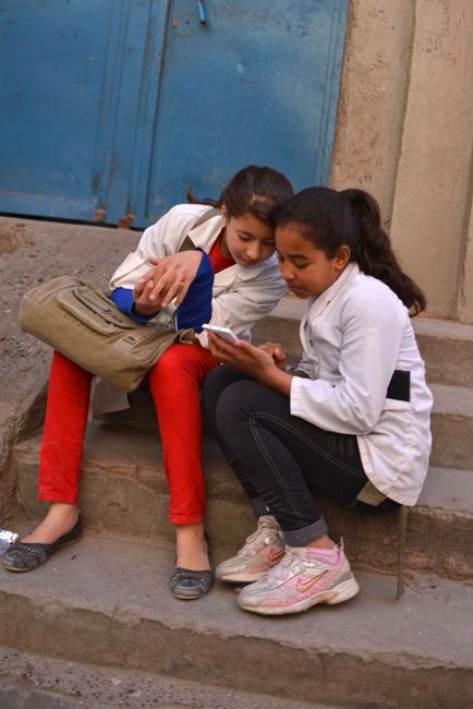 Marrakech teenagers