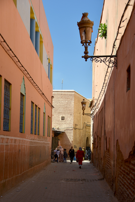 Medina Marrakech alleyway