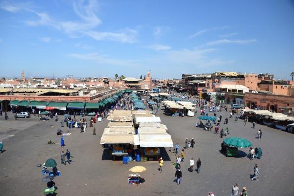 Place Jamaâ El Fna marrakech