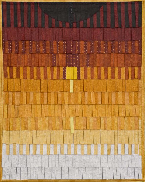 Composition no. 18 (orange avec plumage)