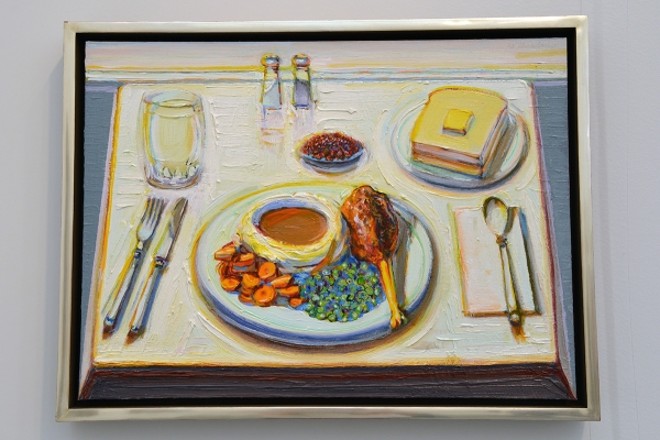 Wayne_Thiebaud_Drumstick_Dinner_1